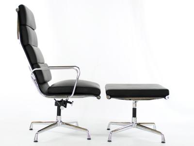 Image du fauteuil design Silla Lounge EA222 - Negro