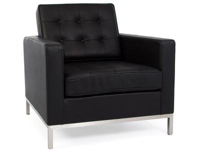 Image du fauteuil design Sillón Lounge Knoll - Negro