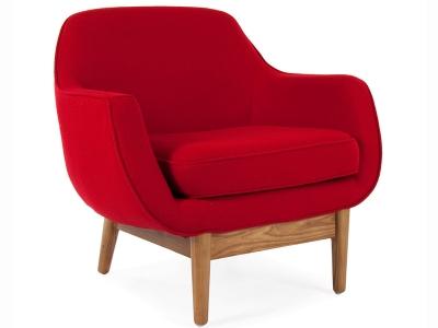 Image du fauteuil design Sillón Lusk - Rojo