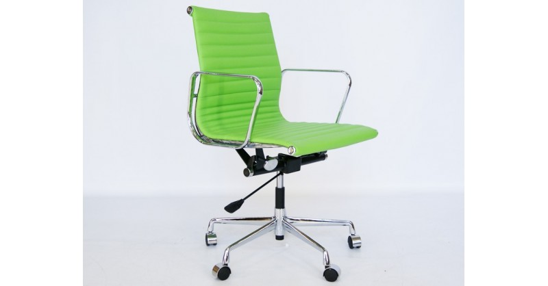 Sedia Ufficio Verde Mela : Sedia eames alu ea verde mela
