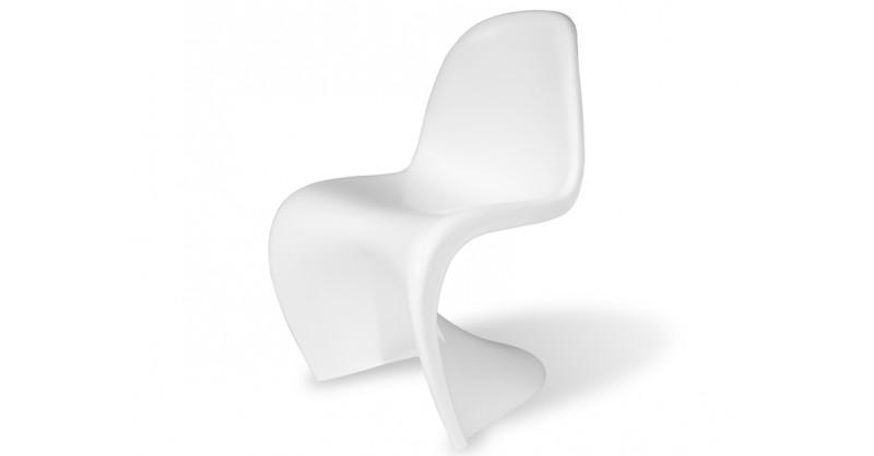 panton stuhl in wei g nstig als reproduktion bestellen. Black Bedroom Furniture Sets. Home Design Ideas