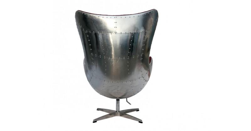 fauteuil egg spitfire aj rouge. Black Bedroom Furniture Sets. Home Design Ideas