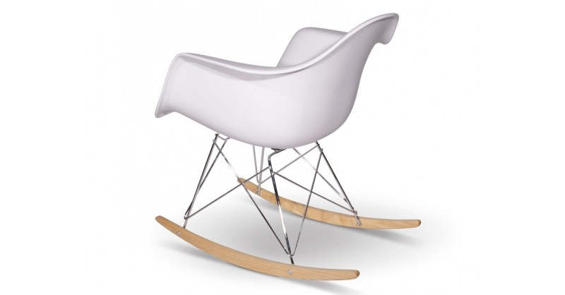 Reproduction rocking chair rar vintage fauteuil bascule for Fauteuil eames rocking chair