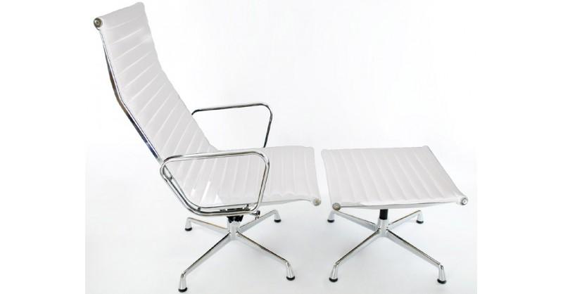 Sedia lounge ea124 bianca - Poltrone famose design ...