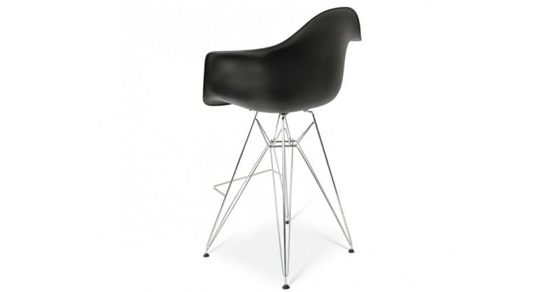 Silla de barra dar negro for Precio de sillas para barra