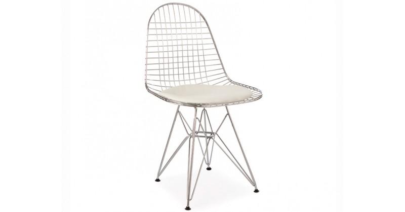 eames dkr stuhl wei. Black Bedroom Furniture Sets. Home Design Ideas