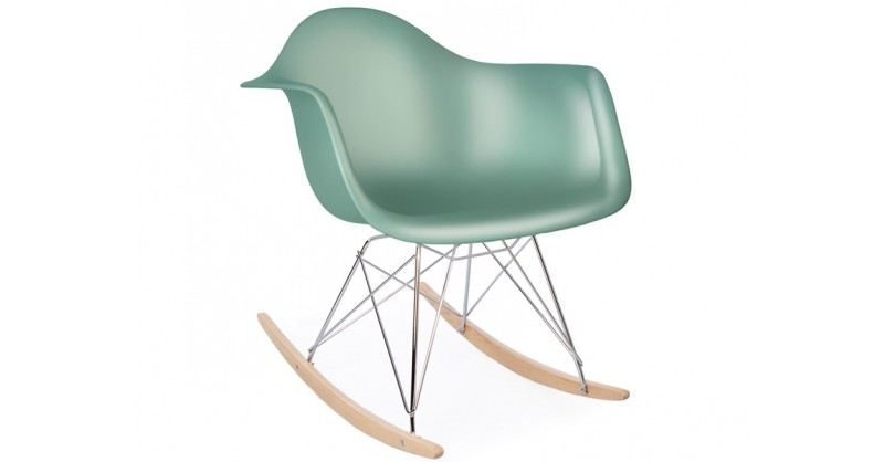 eames schaukelstuhl rar blau gr n. Black Bedroom Furniture Sets. Home Design Ideas