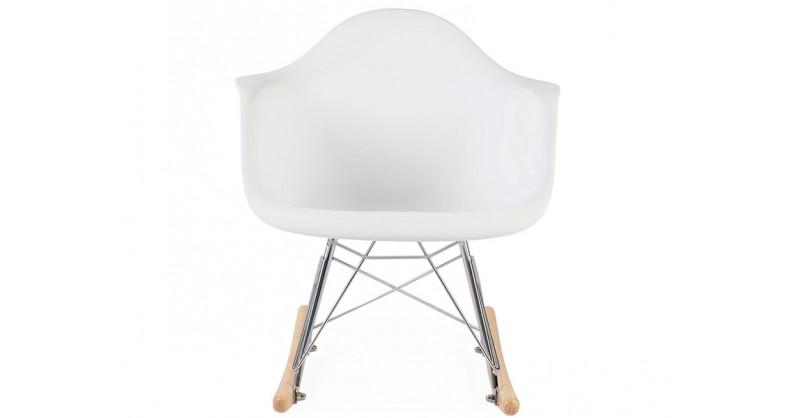 kinder eames schaukelstuhl rar wei. Black Bedroom Furniture Sets. Home Design Ideas