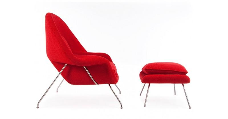 Poltrona womb rosso - Poltrone famose design ...