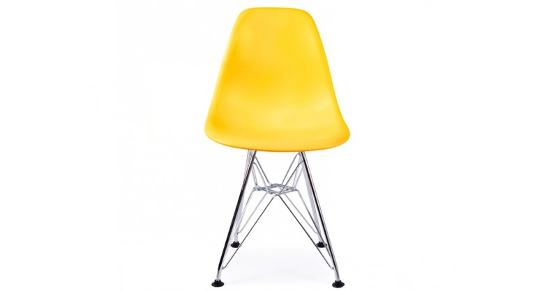 Chaise enfant eames dsr jaune for Eames chaise enfant