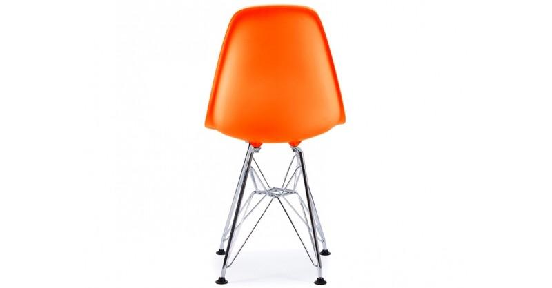 chaise enfant eames dsr orange. Black Bedroom Furniture Sets. Home Design Ideas