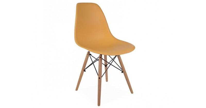 Dsw stuhl orange for Design stuhl orange