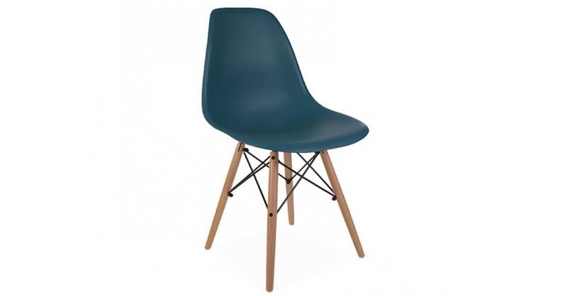 Chaise dsw bleu vert for Chaise dsw bleu canard