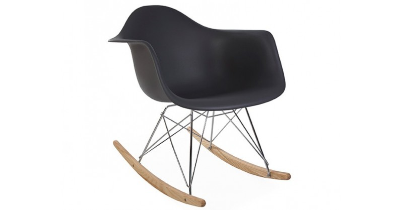 eames schaukelstuhl rar anthrazit. Black Bedroom Furniture Sets. Home Design Ideas