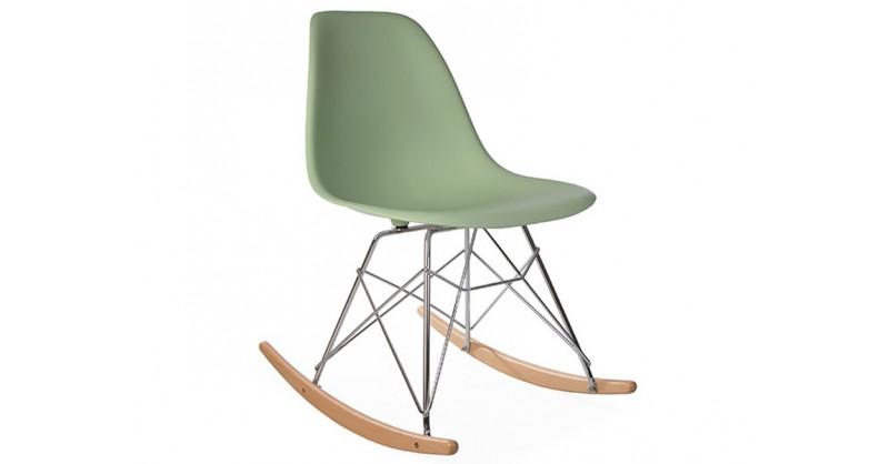 Eames Rocking Chair RSR - Almond green
