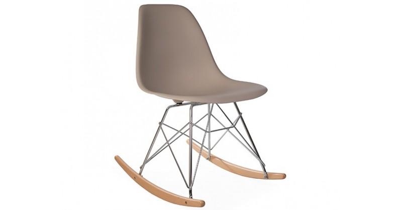 eames rocking chair rsr beige gris. Black Bedroom Furniture Sets. Home Design Ideas