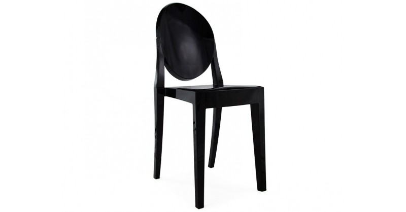 Chaise victoria ghost noir - Chaise victoria ghost pas cher ...