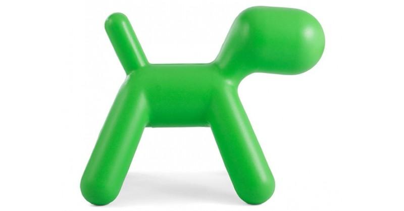 kinder stuhl puppy medium gr n. Black Bedroom Furniture Sets. Home Design Ideas