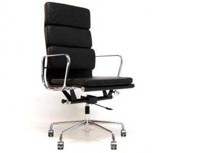 eames soft pad ea219 schwarz. Black Bedroom Furniture Sets. Home Design Ideas