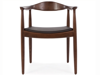 Wegner stuhl the chair braun schwarz for Sedia wagner
