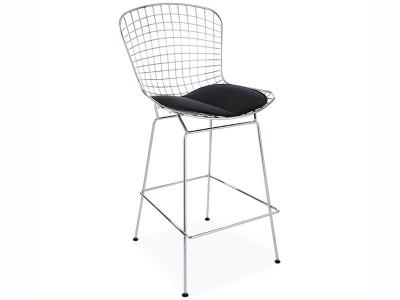 bertoia wire bar hocker. Black Bedroom Furniture Sets. Home Design Ideas
