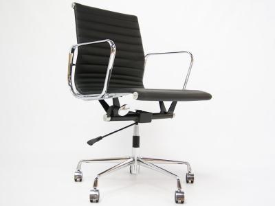 Chaise De Bureau Eames Alu Ea117 Couleur Noir
